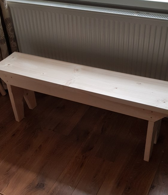 Bench with storage by David Barker