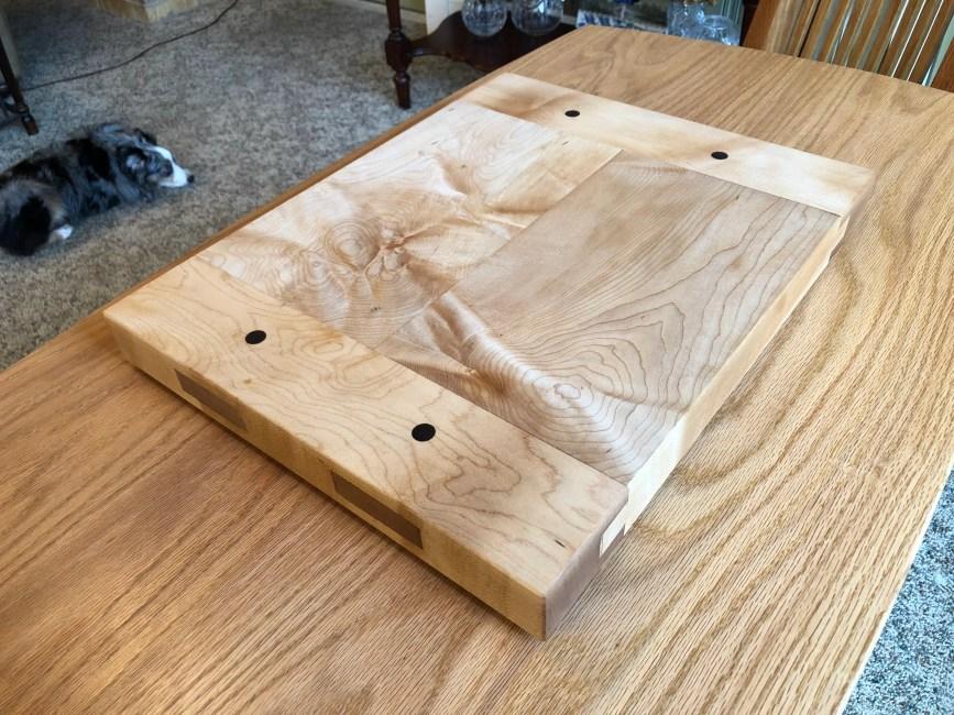Breadboard-end Cutting Board by Richard Taylor