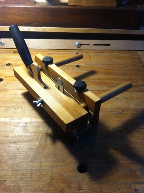 Wooden Plough Plane by Laurentiu Alimpie