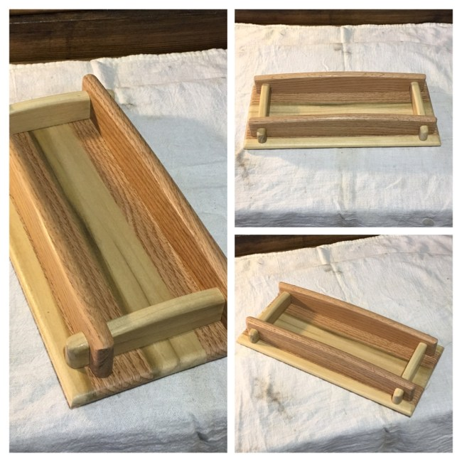 Wooden Tray by Bill Hall