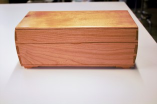 Keepsake Box in Cherry