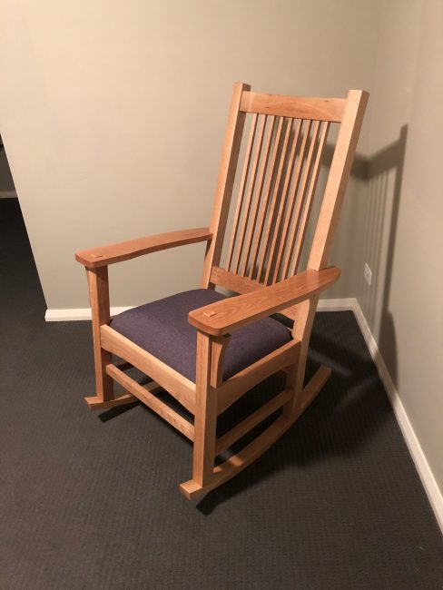 Rocking Chair by Brad Turnbull