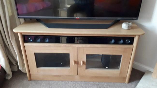 TV Corner Unit by David Selin