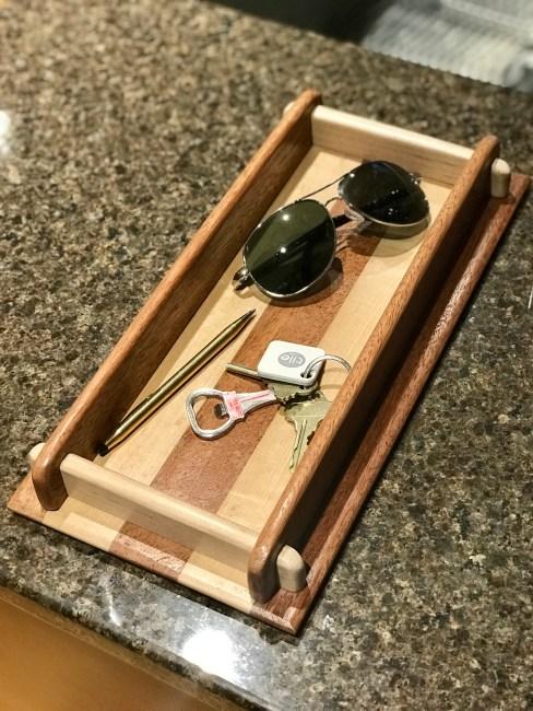 Wooden Tray by Kurt Schultz