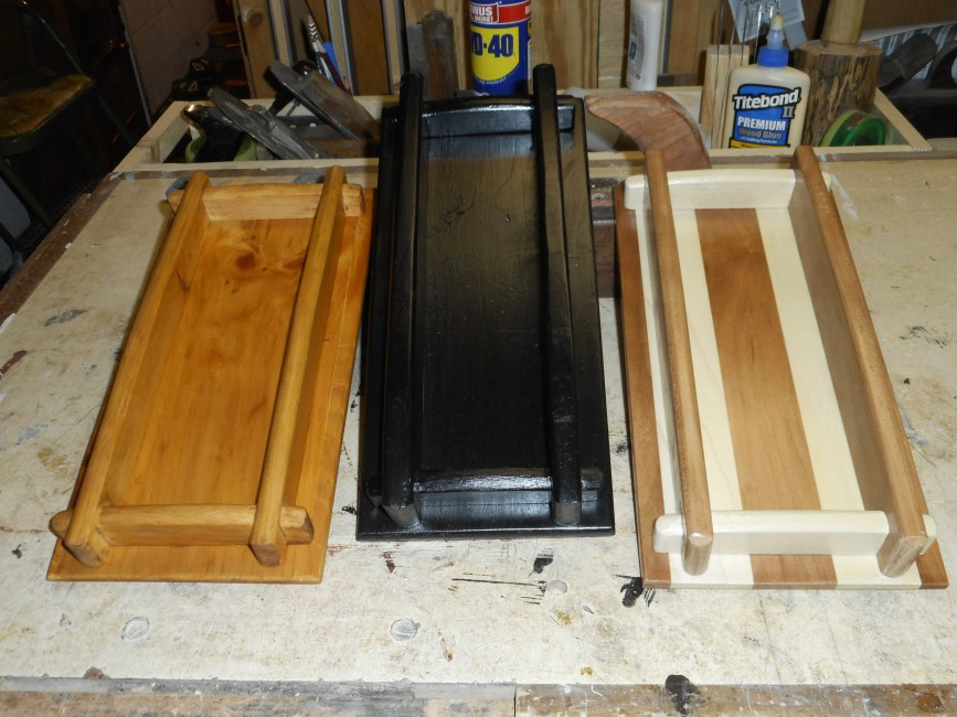 Wooden Trays by Harold
