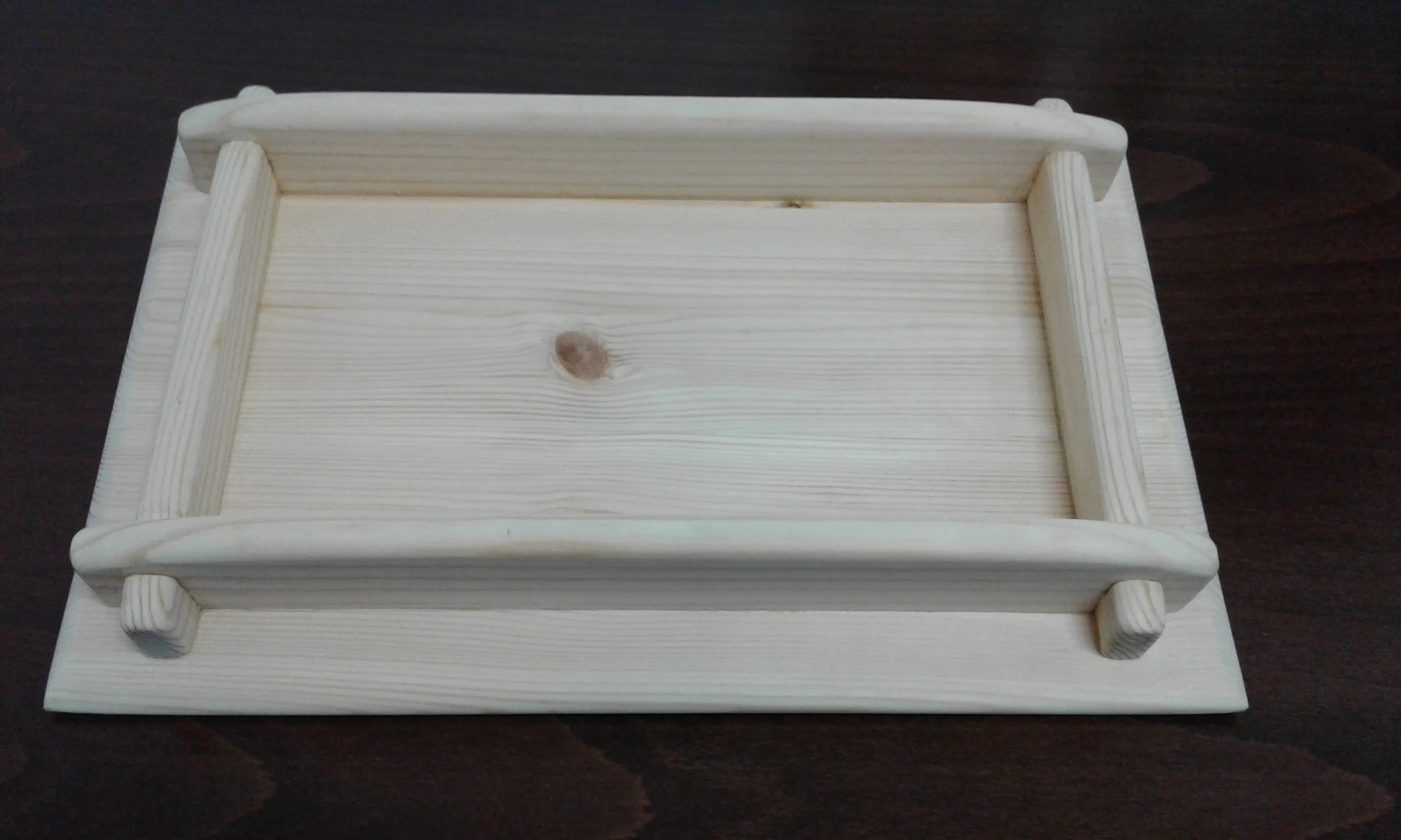 Wooden Tray by Amir