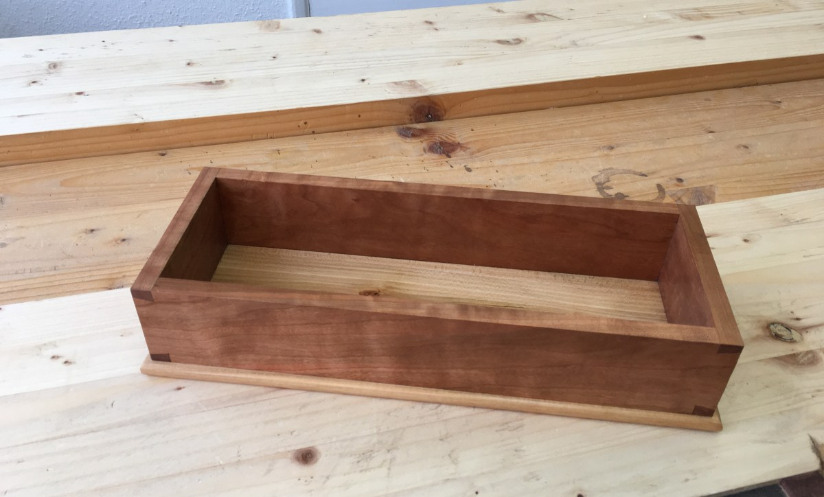 Dovetail Box by Christopher Guest