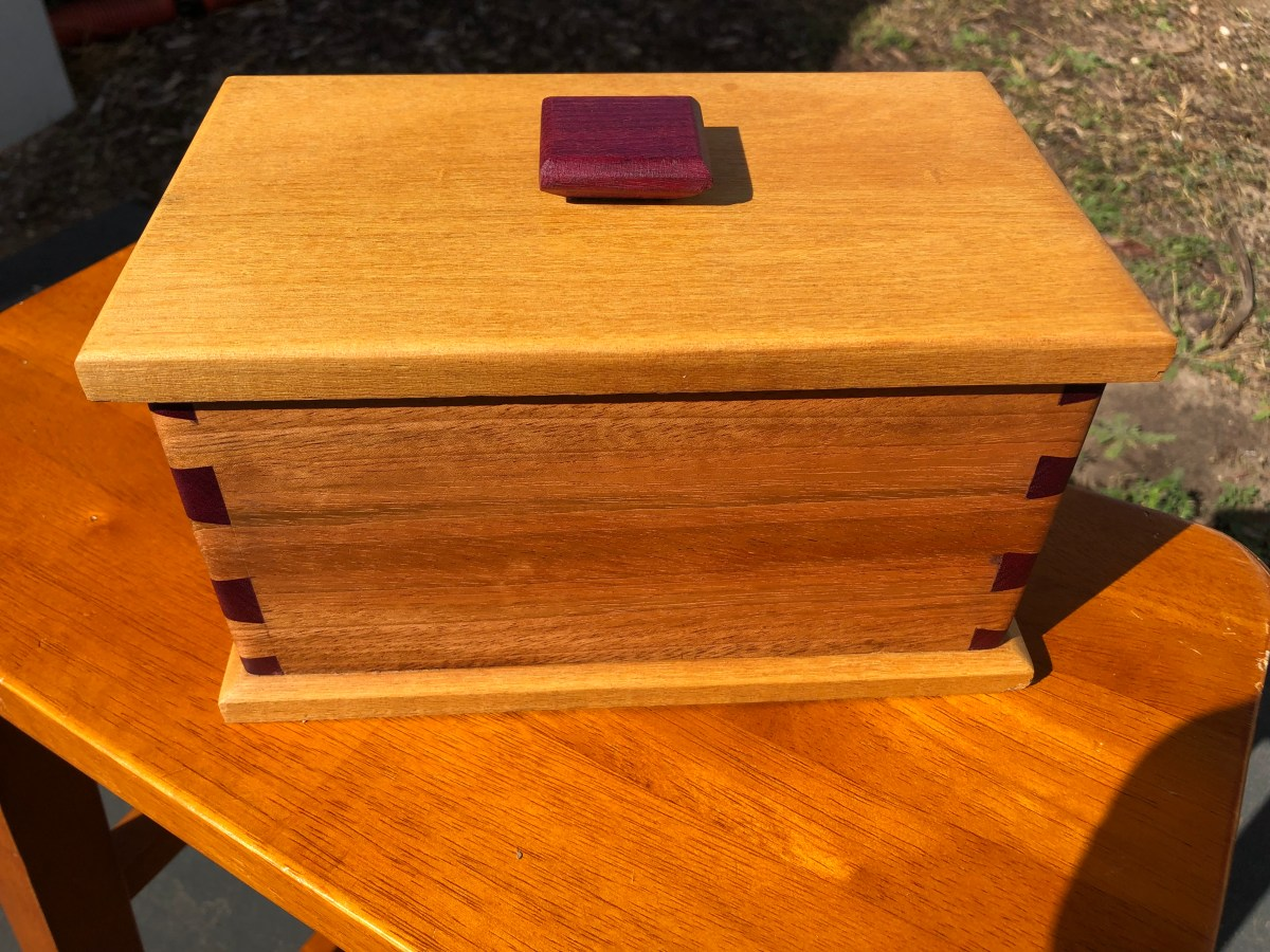 Dovetail Box by Michael
