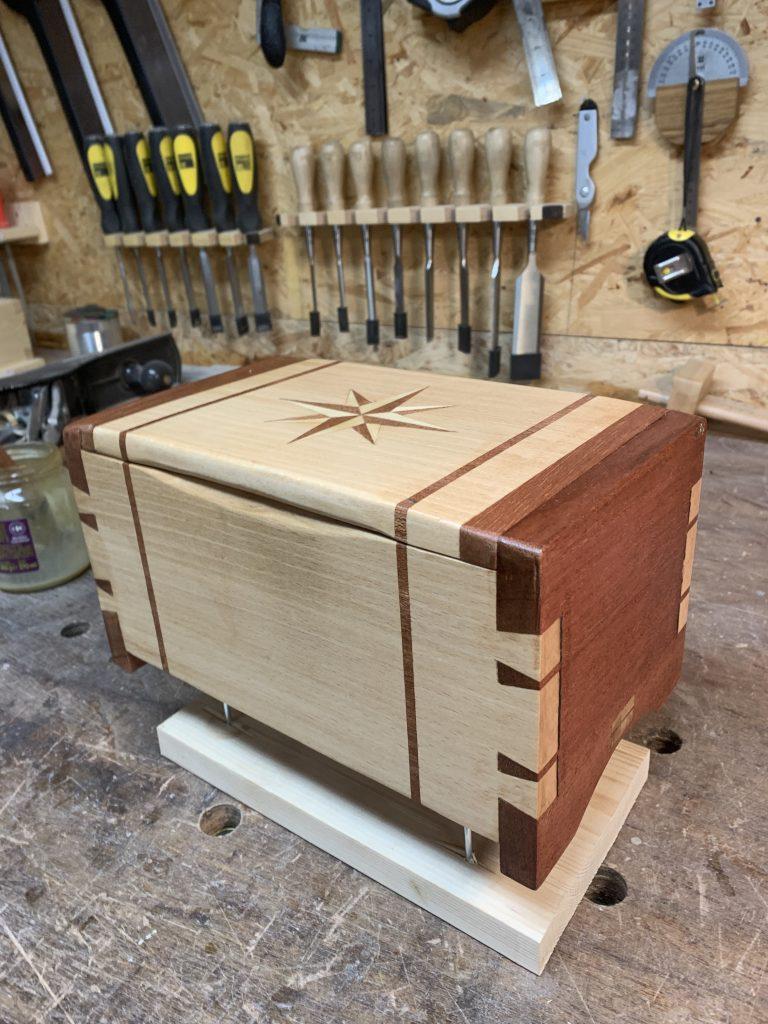 Dovetail Box by Stefaan Verweirder
