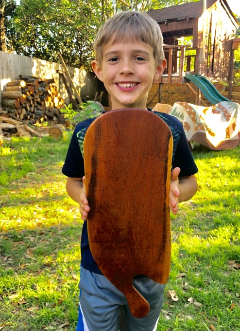 Mesquite Cutting Board by Zadok with Caleb Pendleton