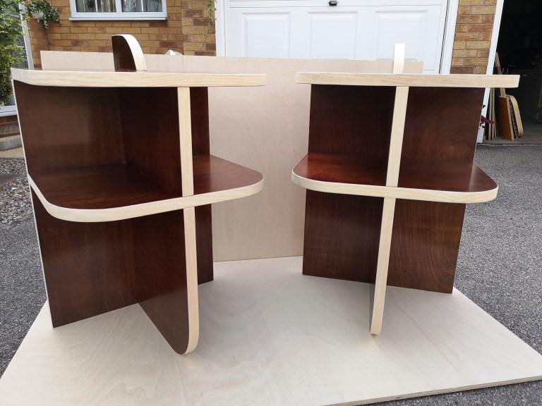 Bedside Cabinet by Kered Winder