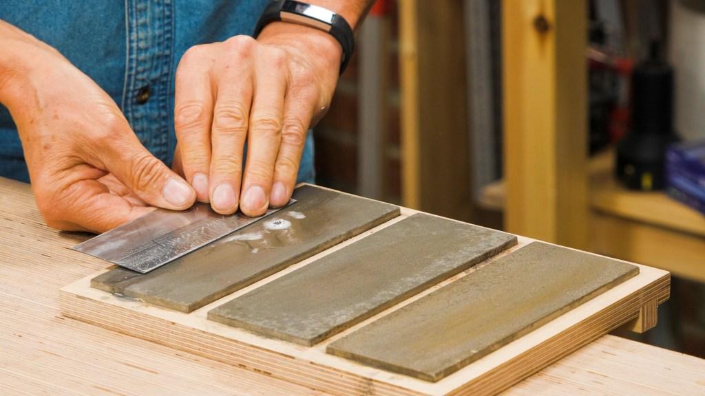 Card Scraper Sharpening Keyframe