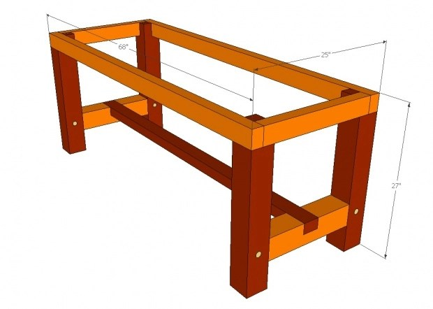 Barn Wood Dining Table Plans PDF Woodworking