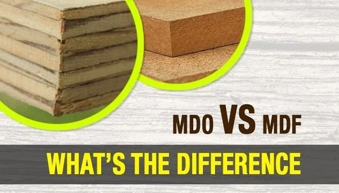 Medium Density Overlay Board ~ Mdo vs mdf what s the difference