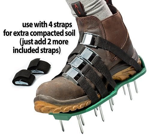 Acre Gear Already Assembled Lawn Aerator Shoes