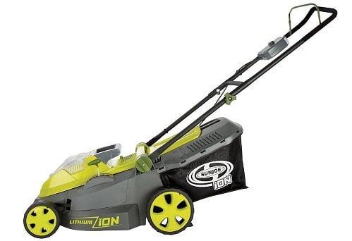 Sun Joe 40V 16-Inch Cordless Electric Lawn Mower