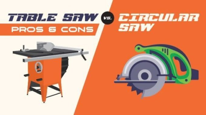 tablesaw vs. circular Saw