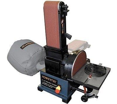 Powertec BD4800 Woodworking Belt Disc Sander