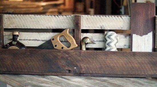 DIY Pallet Wall Shelf Tutorial