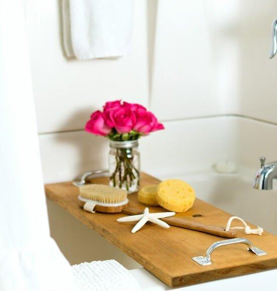 DIY Bath Caddy Tutorial