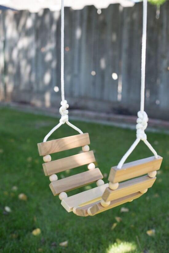 DIY Tree Swing Tutorial