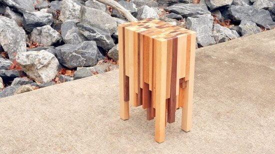 DIY Scrap Wood Designer Table Tutorial