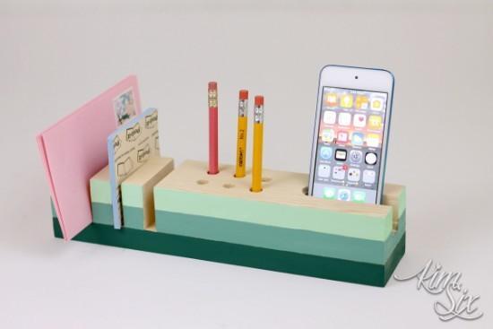 Beautiful Desktop Organizer DIY Tutorial