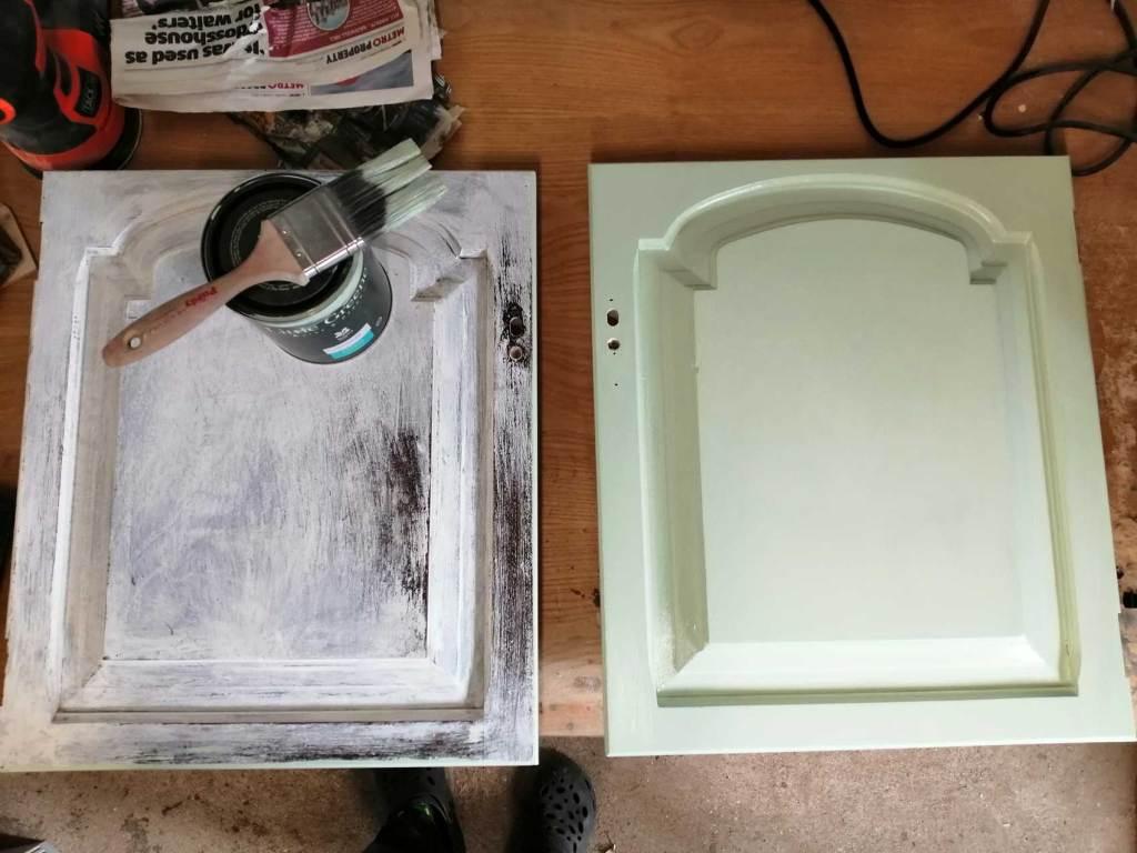 welsh dresser door painted