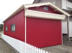 塗装 住宅 車庫