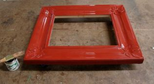 Frame with slow set size