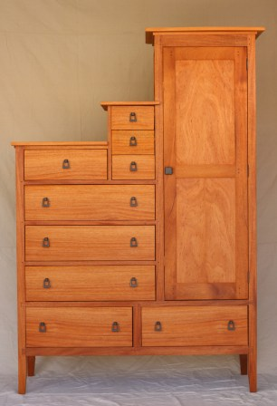 John's Armoire; Front View
