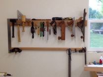 West wall by Workbench
