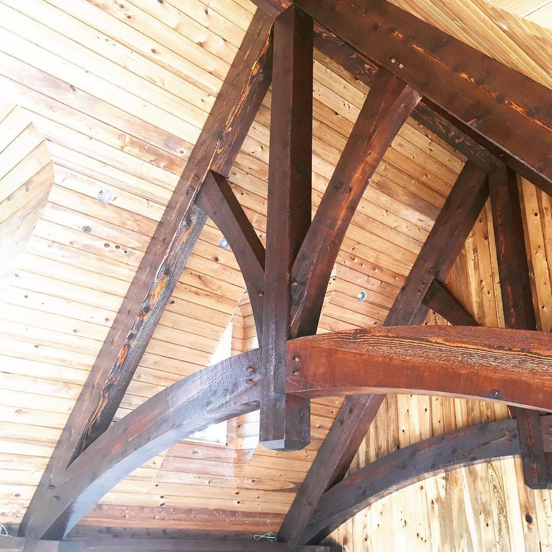 Timber frame #woodworking #timberframe #fineart #quality