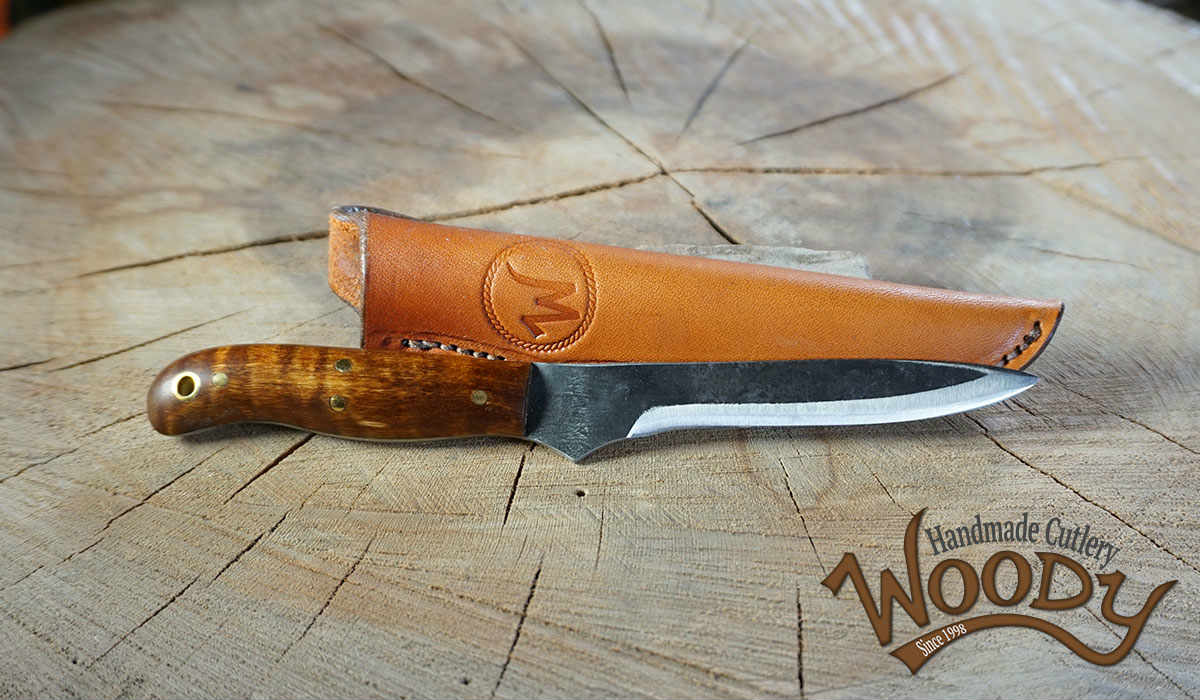 Drury 9 Inch Fillet Knife Woody Handmade Knives