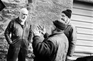 Woody Musgrove Documentary Photography Edinburgh Spey Street Lane Black and White Film
