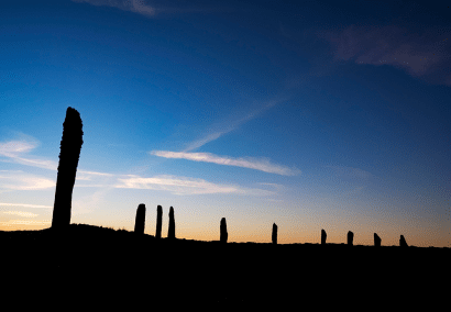Woody Musgrove Photography Orkney Landscape Ring of Bodgar Archaeology