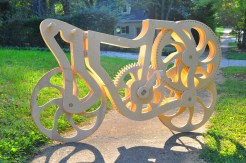 Plywood bicycle