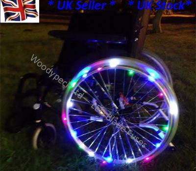 Wheelchair lights