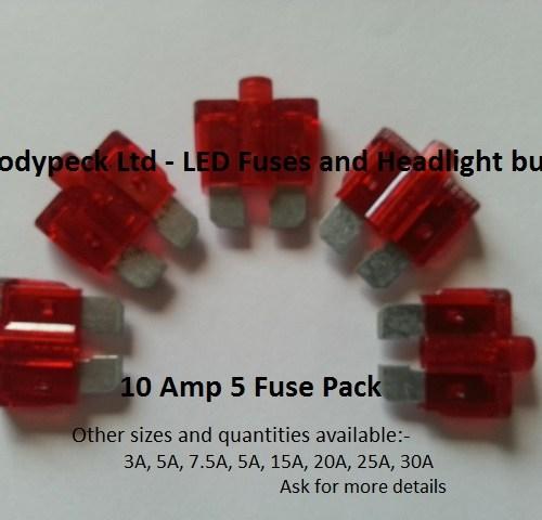 10 Amp Fuses set