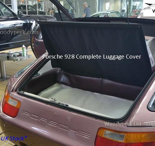 New Custom Colour matched Luggage Cover supplied to OPC Porsche Leeds - JCT600