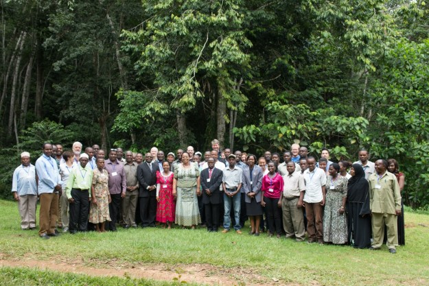 Stakeholders and project participants during the one-day workshop.