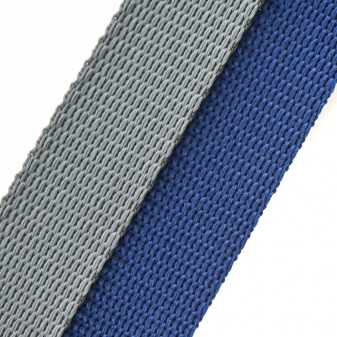 Grey and Navy Collar and Lead