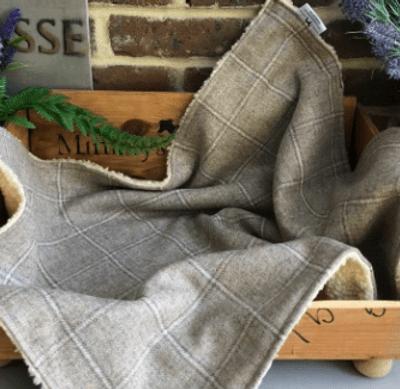 Luxury Dog Blanket - Beige