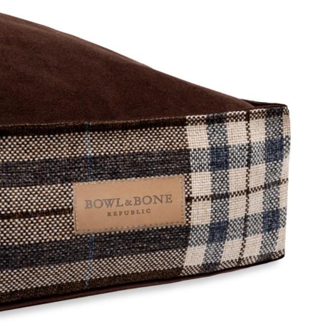 Brown Dog Cushion Bed Scott