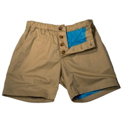 Men's Mesh-Lined Chino Shorts