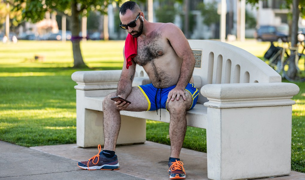 men's short gym shorts
