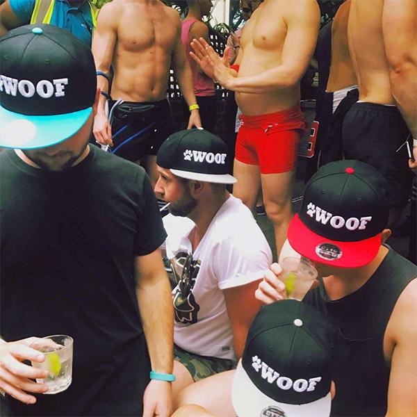 WOOF Caps Sydney Mardi Gras