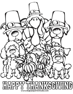 free thanksgiving coloring pages printable # 29