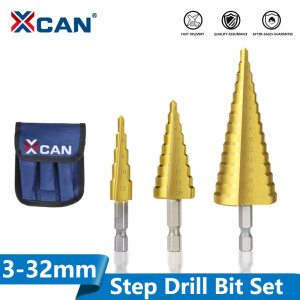 3-13 4-12 4-20 4-32mm HSS Titanium coated Stepped Drill Bit Power Tools Accessories Wood Metal Hole Cutter Cone Drill