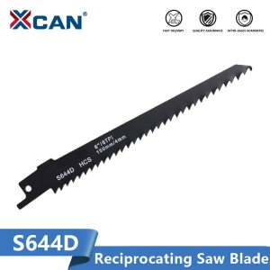 XCAN Reciprocating Saw Blade S1122HF S922EF S644D Jig Saw Blade 150/225mm High Carbon Steel Wood Metal Cutting Blade